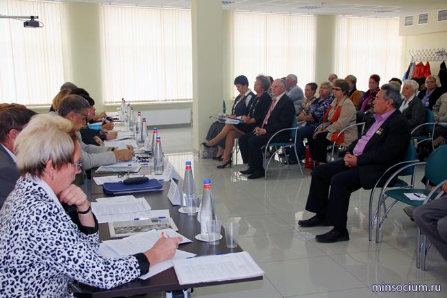В министерстве социальной политики состоялась встреча с активом общественной организации «Всероссийское общество инвалидов»